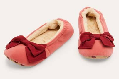 Best women's slippers UK: ballerina slippers