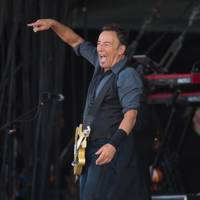 Bruce Springsteen performs at Isle Of Wight Festival