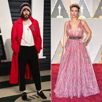 Jared Leto and Scarlett Johansson