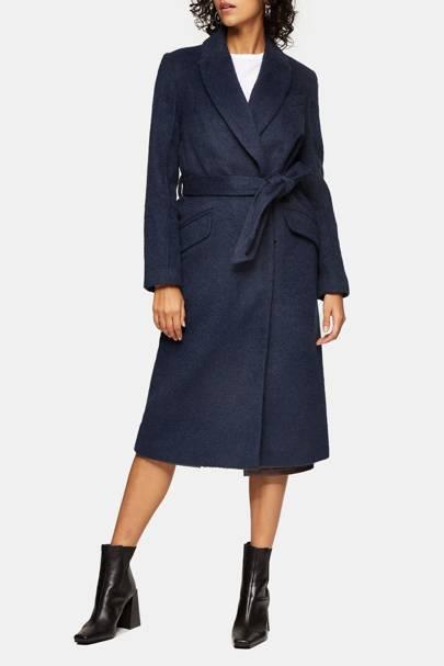 Best winter coat navy