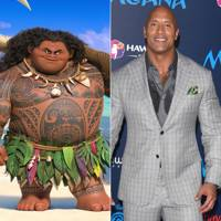Dwayne Johnson as Maui in Moana