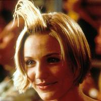 Cameron Diaz in 'that' moment - There's Something About Mary, 1998