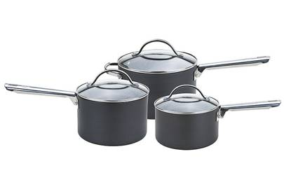 Best cookware sets: the lidded saucepan set