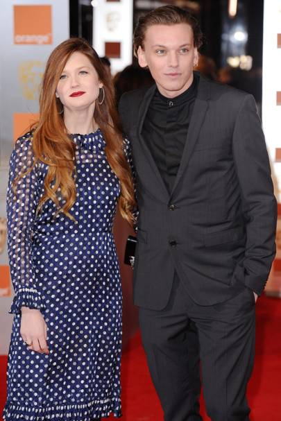Jamie Campbell Bower & Bonnie Wright