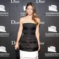 Jessica Biel at the Guggenheim International Gala