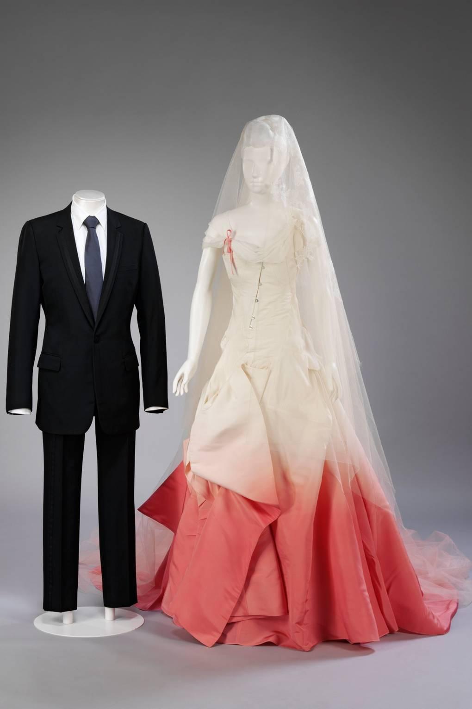 Celebrity Wedding Dresses Dita Von Teese Gwen Stefani Kate Moss Glamour Uk