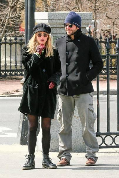 February: Bradley Cooper & Suki Waterhouse