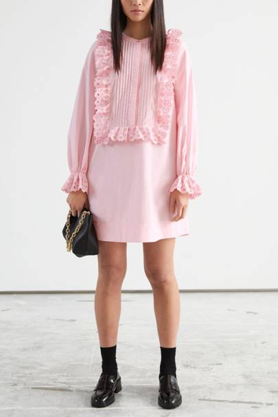 & Other Stories Sale Pink Dress