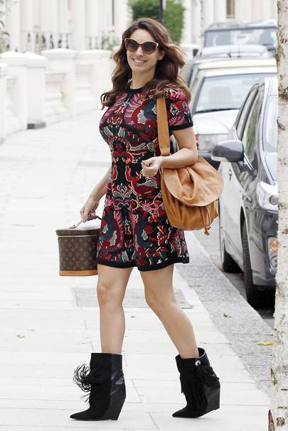 DON'T #20: Kelly Brook out and about in London, August