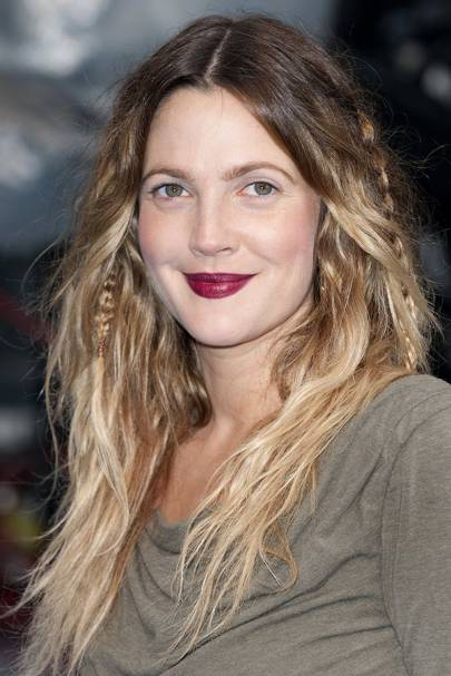 Drew Barrymore S Hair Short Balayage And Her Natural