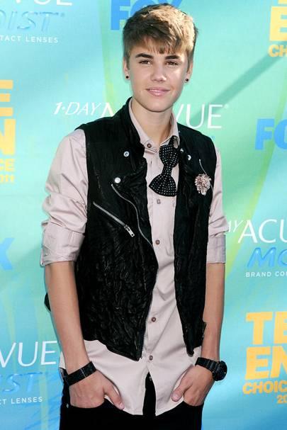 No 45: Justin Bieber
