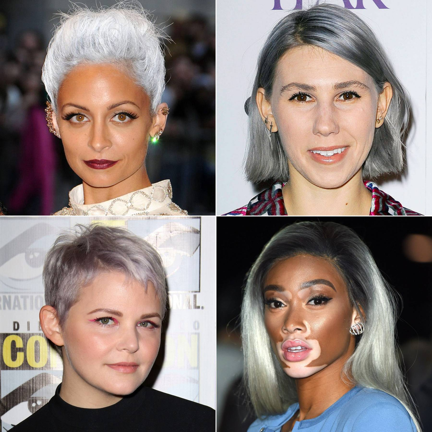 How To Get Grey Hair A Guide For 2018s Silver Hair Colour Trend