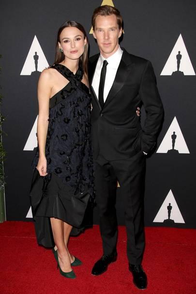 Keira Knightley & Benedict Cumberbatch