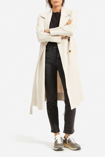 Everlane trench coat