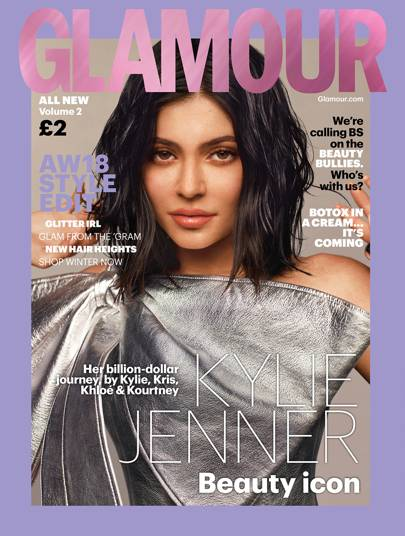 Magazine Cover Girls: Kylie Jenner Is GLAMOUR UK's September 2018 Cover Star