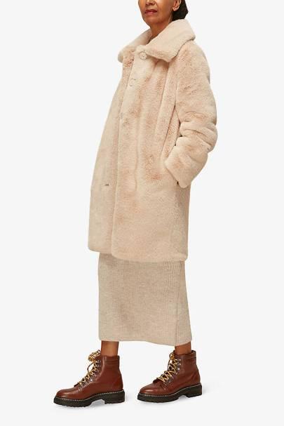 Best winter coat faux fur