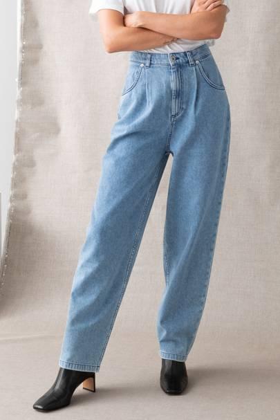 Best organic cotton mom jeans