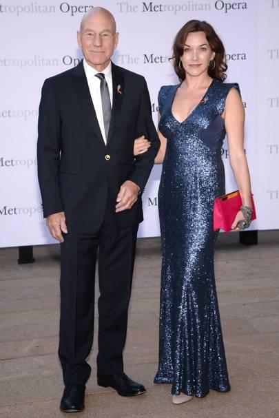 Patrick Stewart & Sunny Ozell