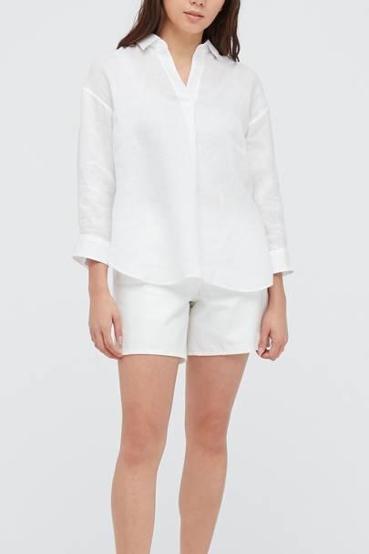 Best Women's White Shirts - Uniqlo